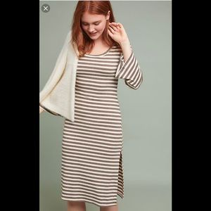 Anthropologie Anama Striped Dress -L